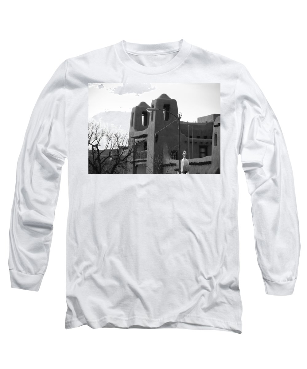 Architecture Long Sleeve T-Shirt featuring the photograph Town Hall by Rob Hans