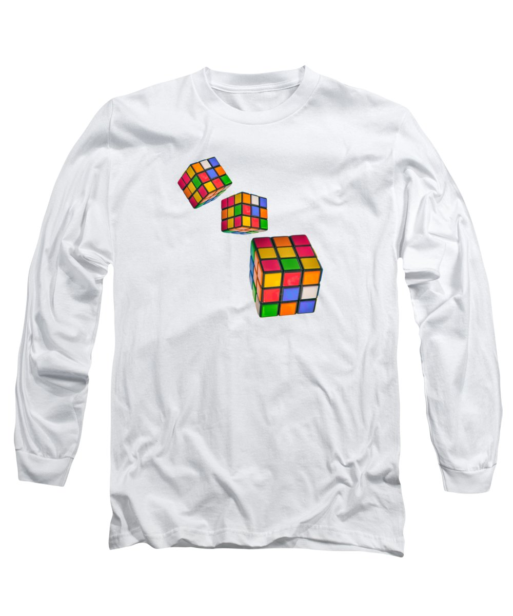 Cubed Long Sleeve T-Shirts