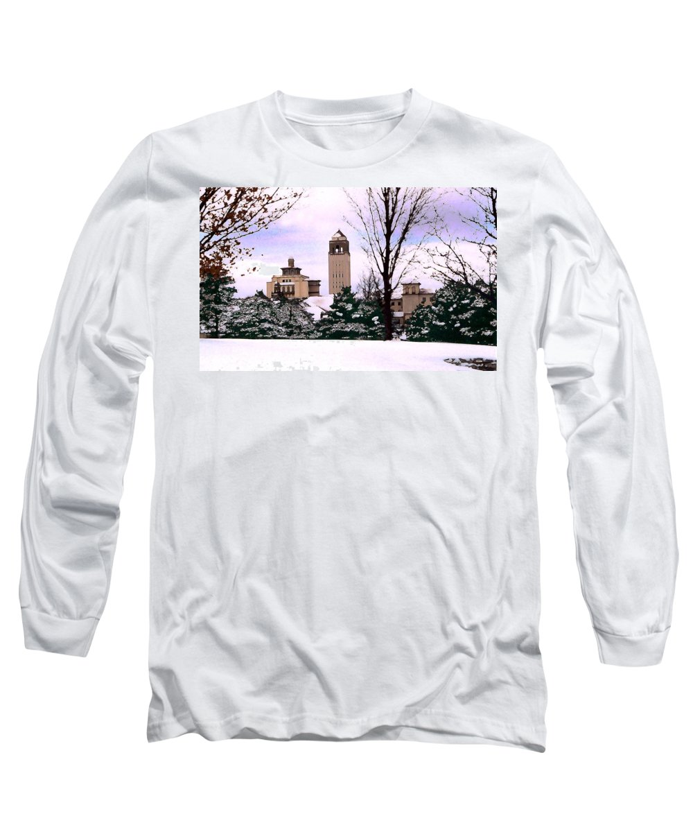 Landscape Long Sleeve T-Shirt featuring the photograph Unity Village by Steve Karol