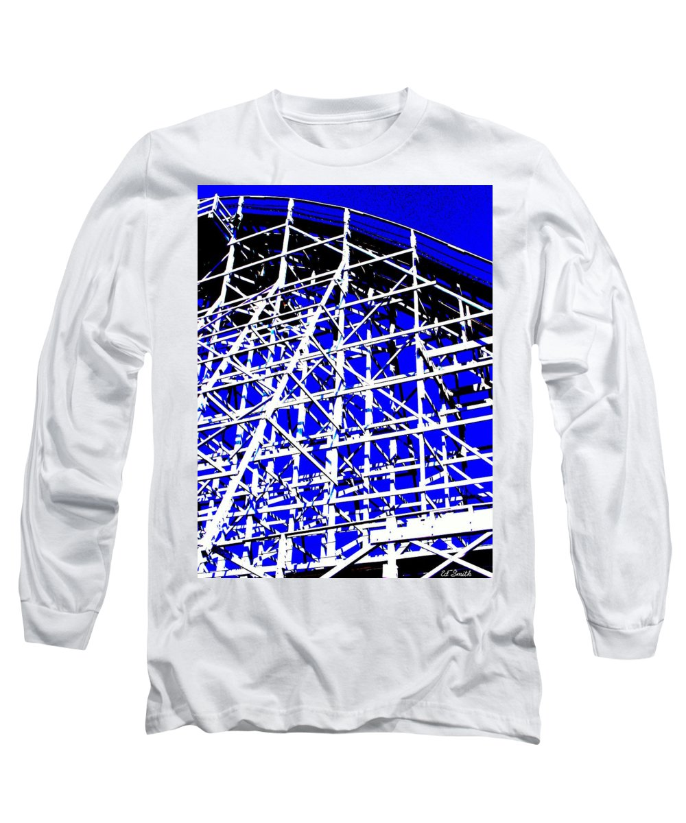 Up And Away Long Sleeve T-Shirt featuring the photograph Up And Away by Ed Smith