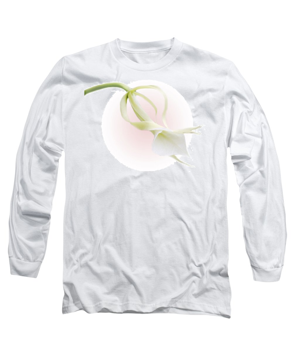 Love Long Sleeve T-Shirt featuring the photograph Valentine Orchid by Marilyn Hunt