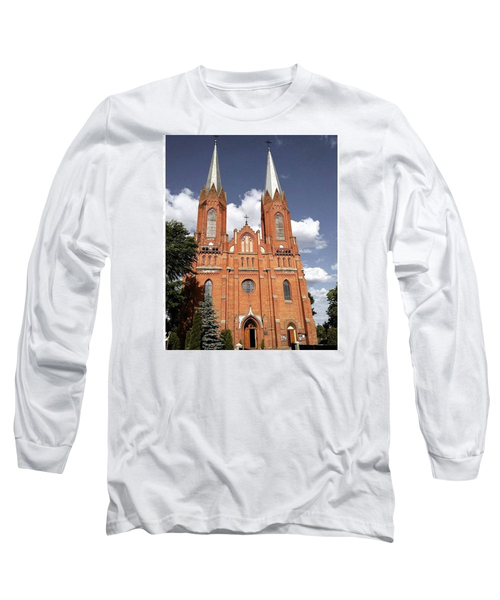 Architecture Long Sleeve T-Shirts