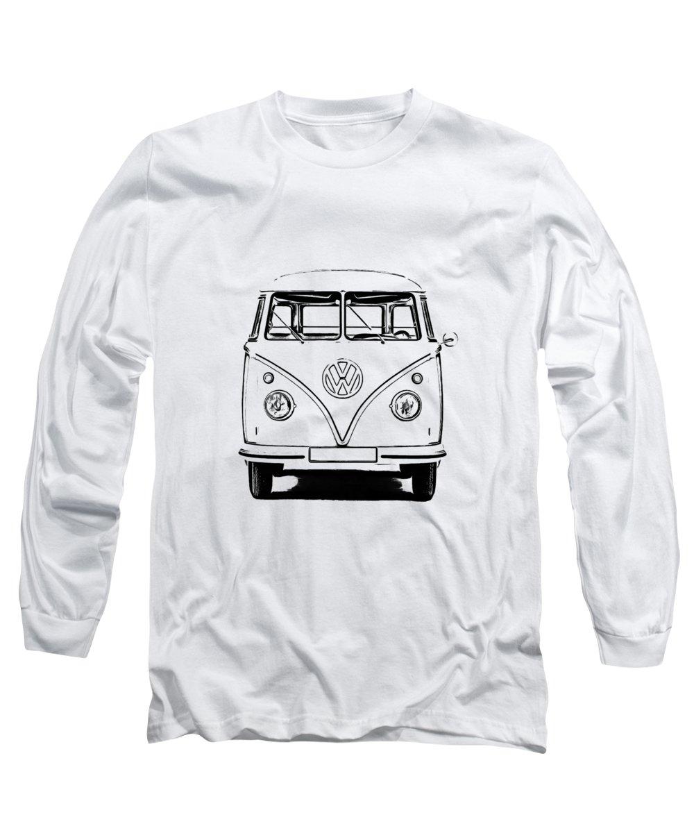 Vw Bus Photographs Long Sleeve T-Shirts