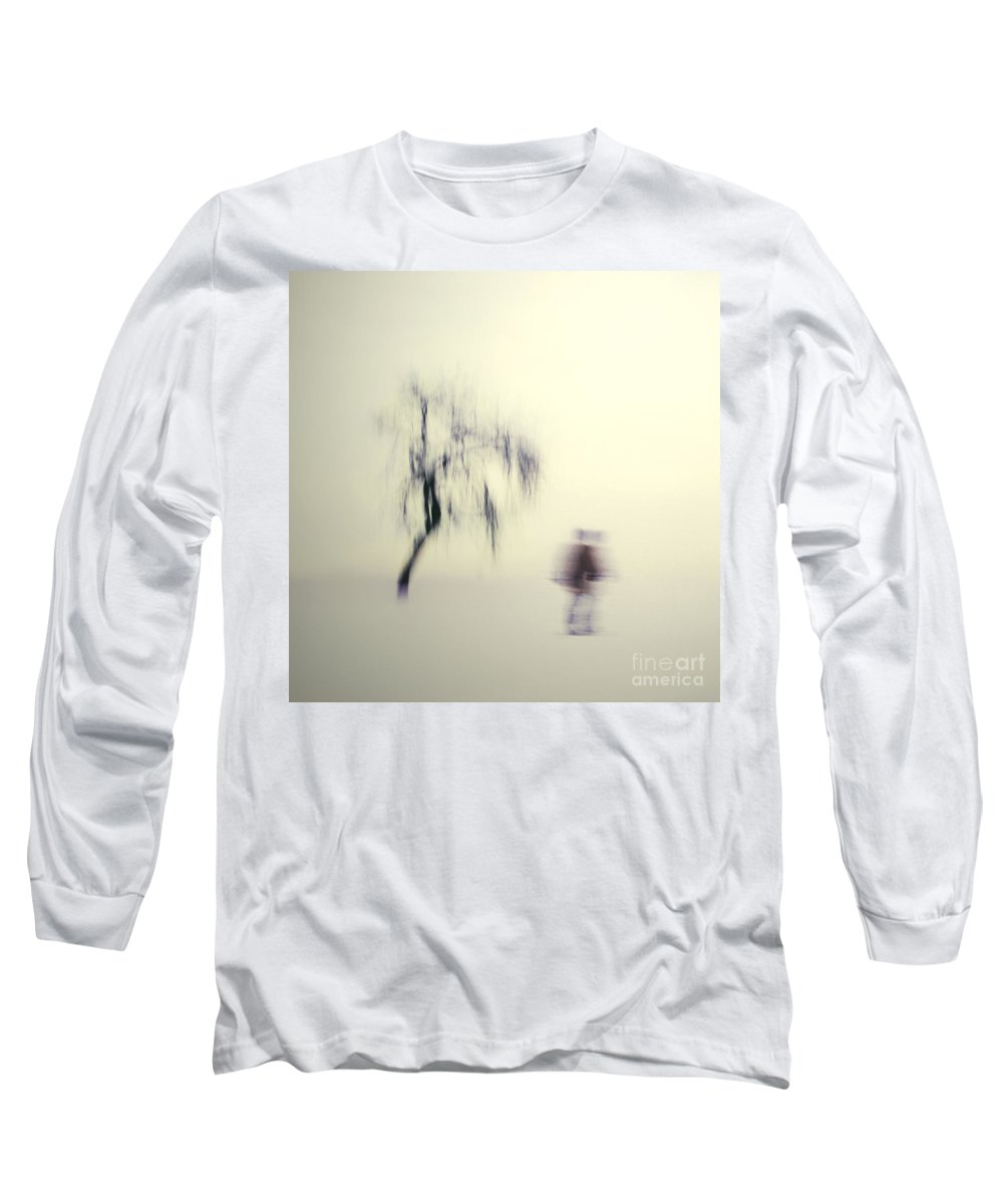 Blur Long Sleeve T-Shirt featuring the photograph What Is The Way To The Light by Dana DiPasquale