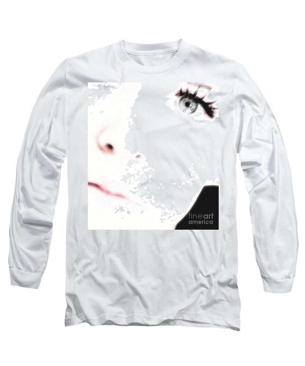 Face Long Sleeve T-Shirt featuring the photograph Where Is The Soul by Amanda Barcon