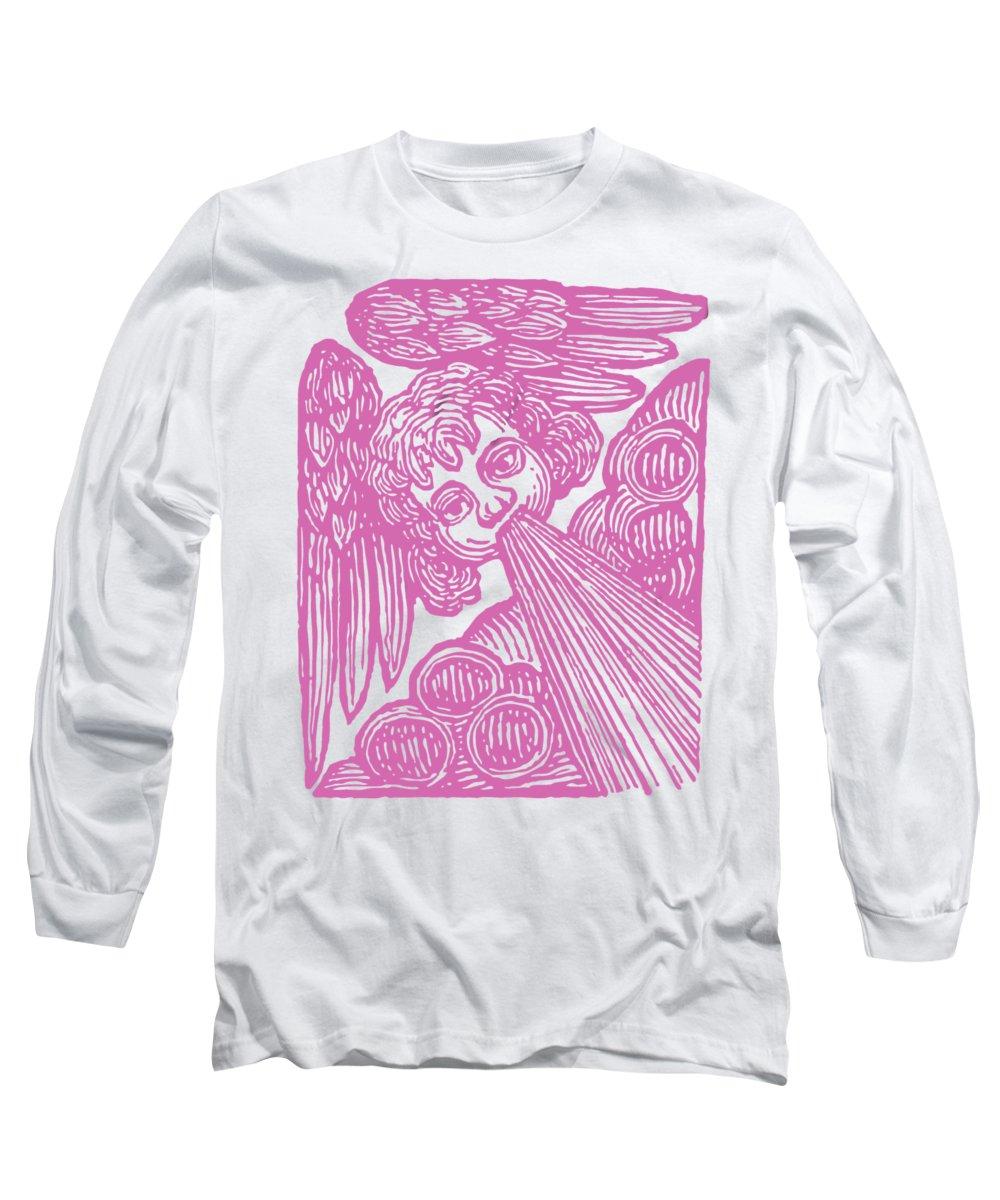 Woodcut Drawings Long Sleeve T-Shirts