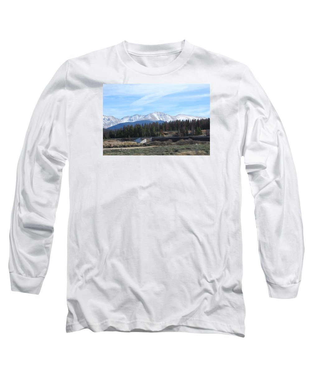 Colorado Long Sleeve T-Shirt featuring the photograph Winter Park Colorado by Margaret Fortunato