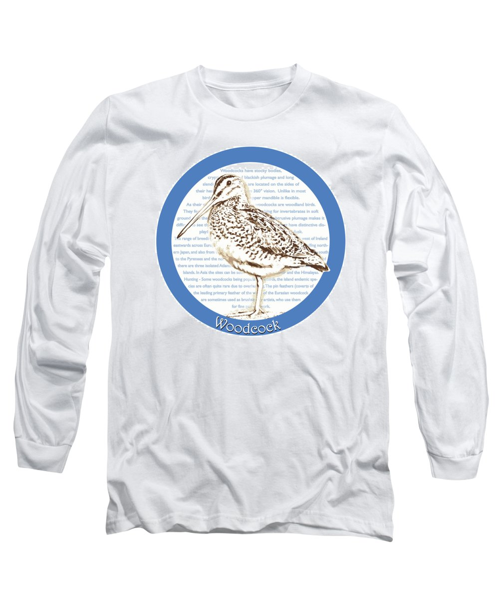 Woodcock Long Sleeve T-Shirts