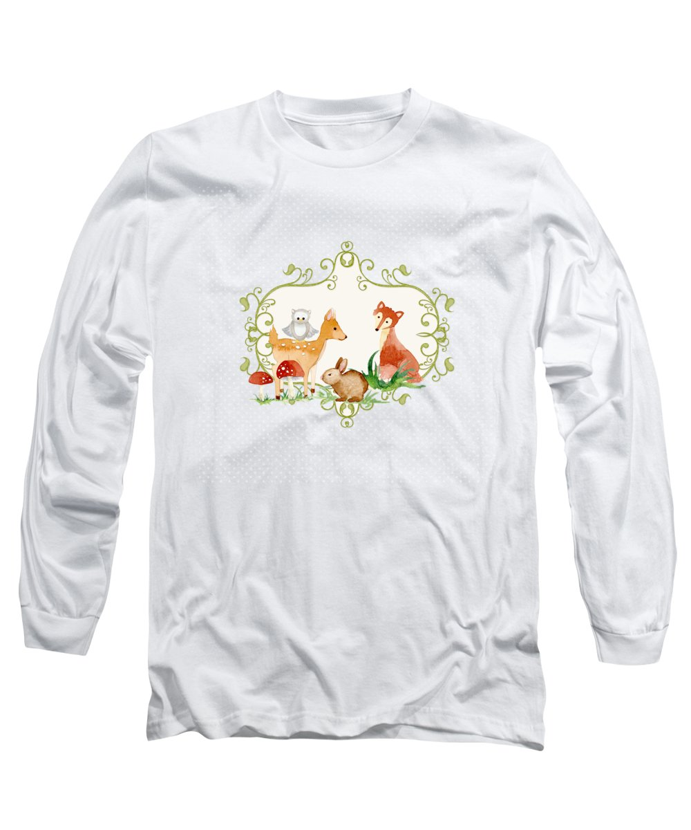 Color Image Long Sleeve T-Shirts