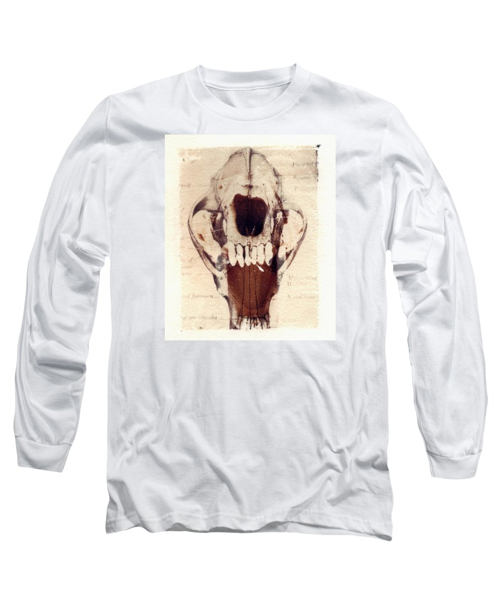 Polaroid Long Sleeve T-Shirt featuring the photograph X Ray Terrestrial by Jane Linders