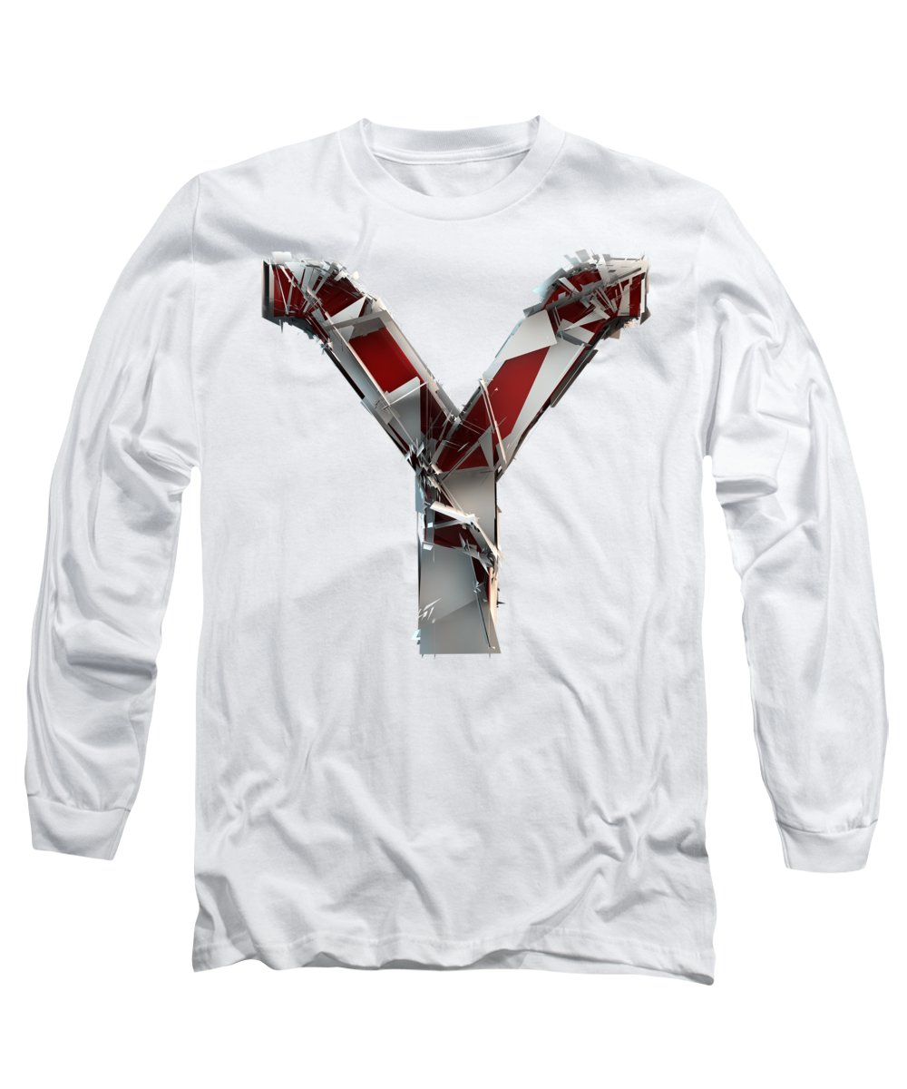 Alphabet Long Sleeve T-Shirt featuring the photograph Y Is For Youth by Gary Keesler