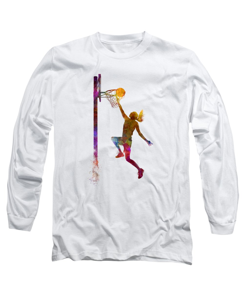 African Woman Long Sleeve T-Shirts
