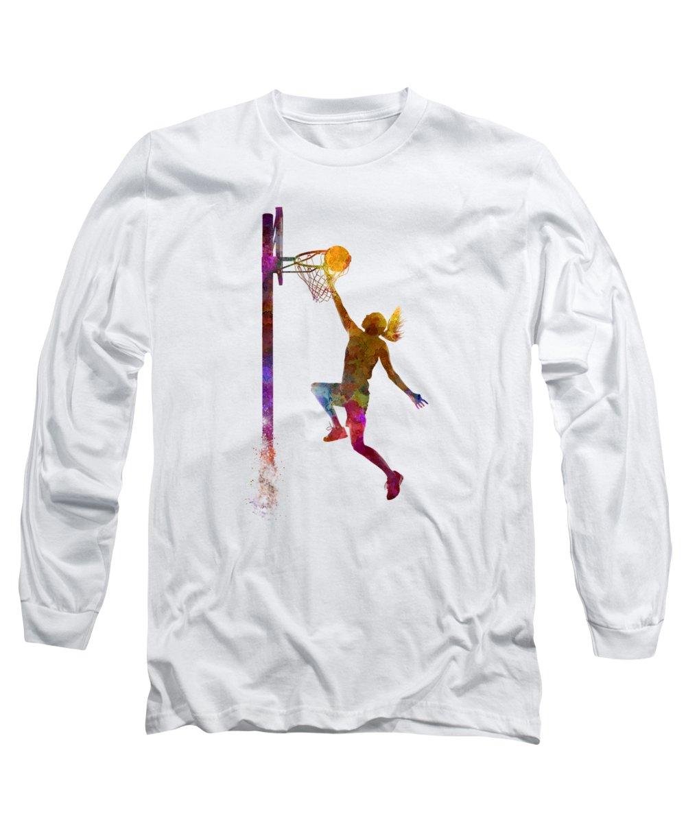 Basketball Long Sleeve T-Shirts