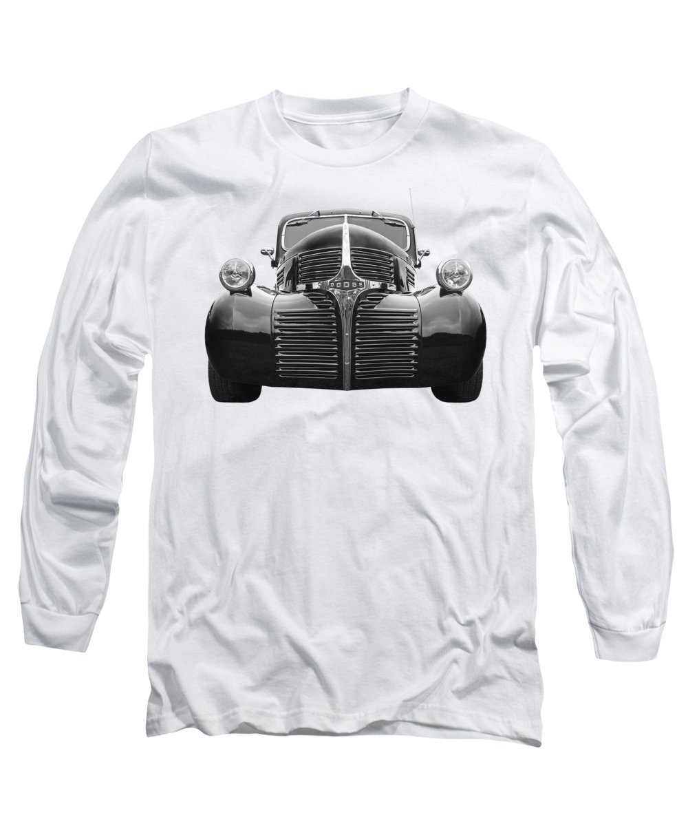 Dodge Truck Long Sleeve T-Shirt featuring the photograph Dodge Truck 1947 by Gill Billington