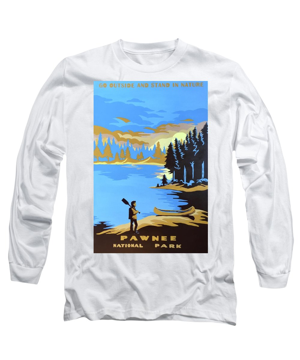 195a2cf0 Pawnee National Park Long Sleeve T-Shirt for Sale by Jen Warren
