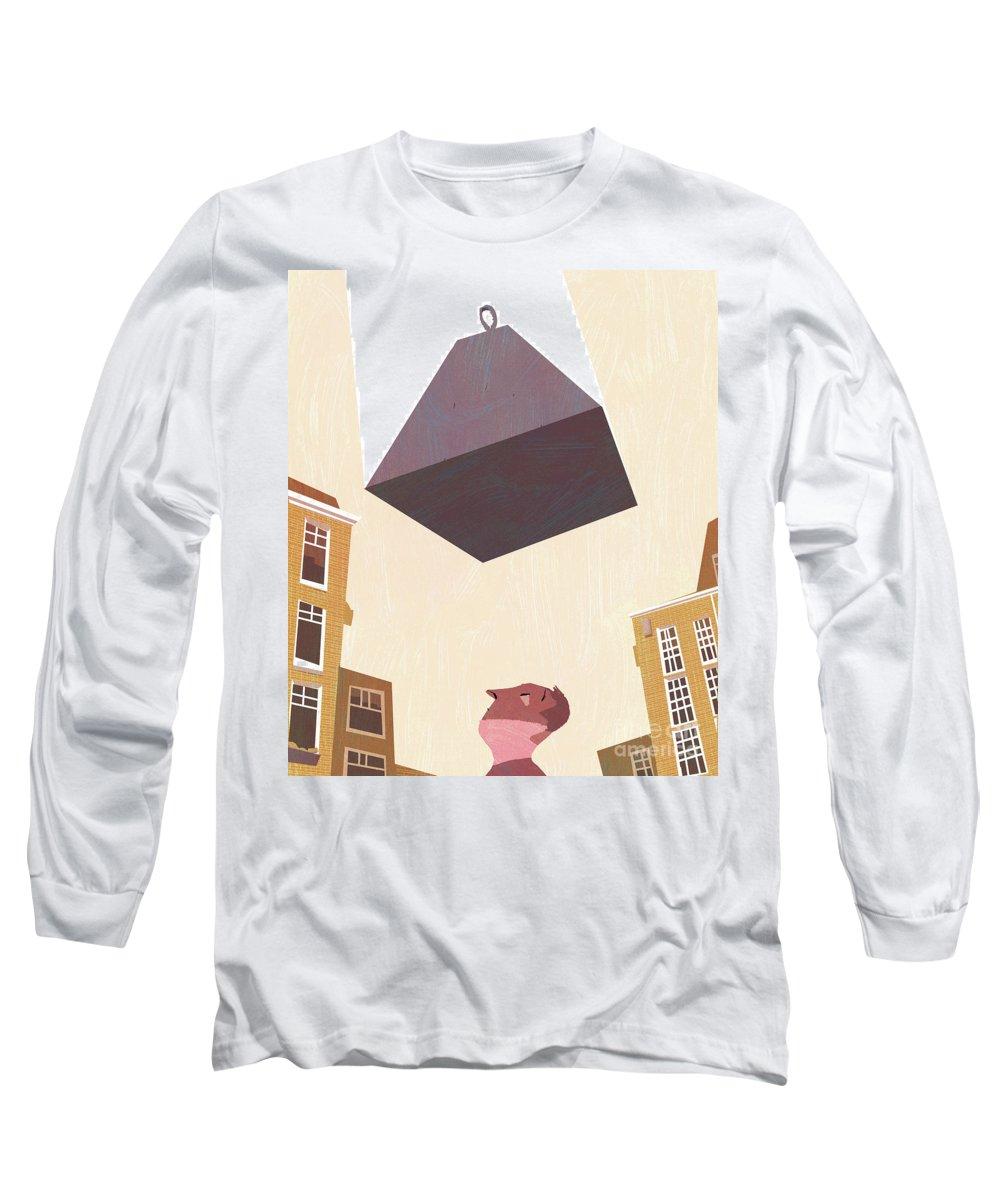 Debts Mixed Media Long Sleeve T-Shirts