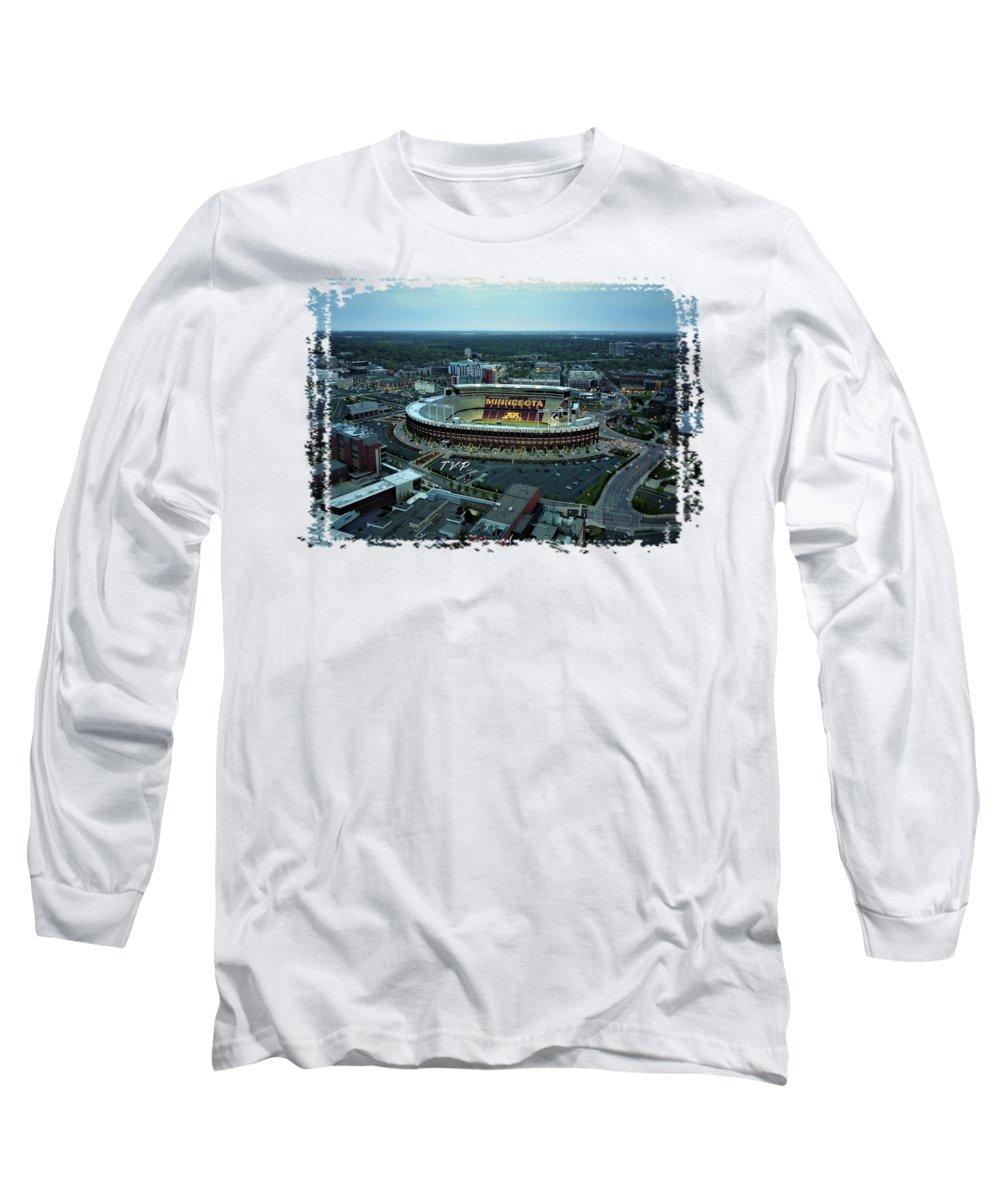 Minneapolis Photographs Long Sleeve T-Shirts