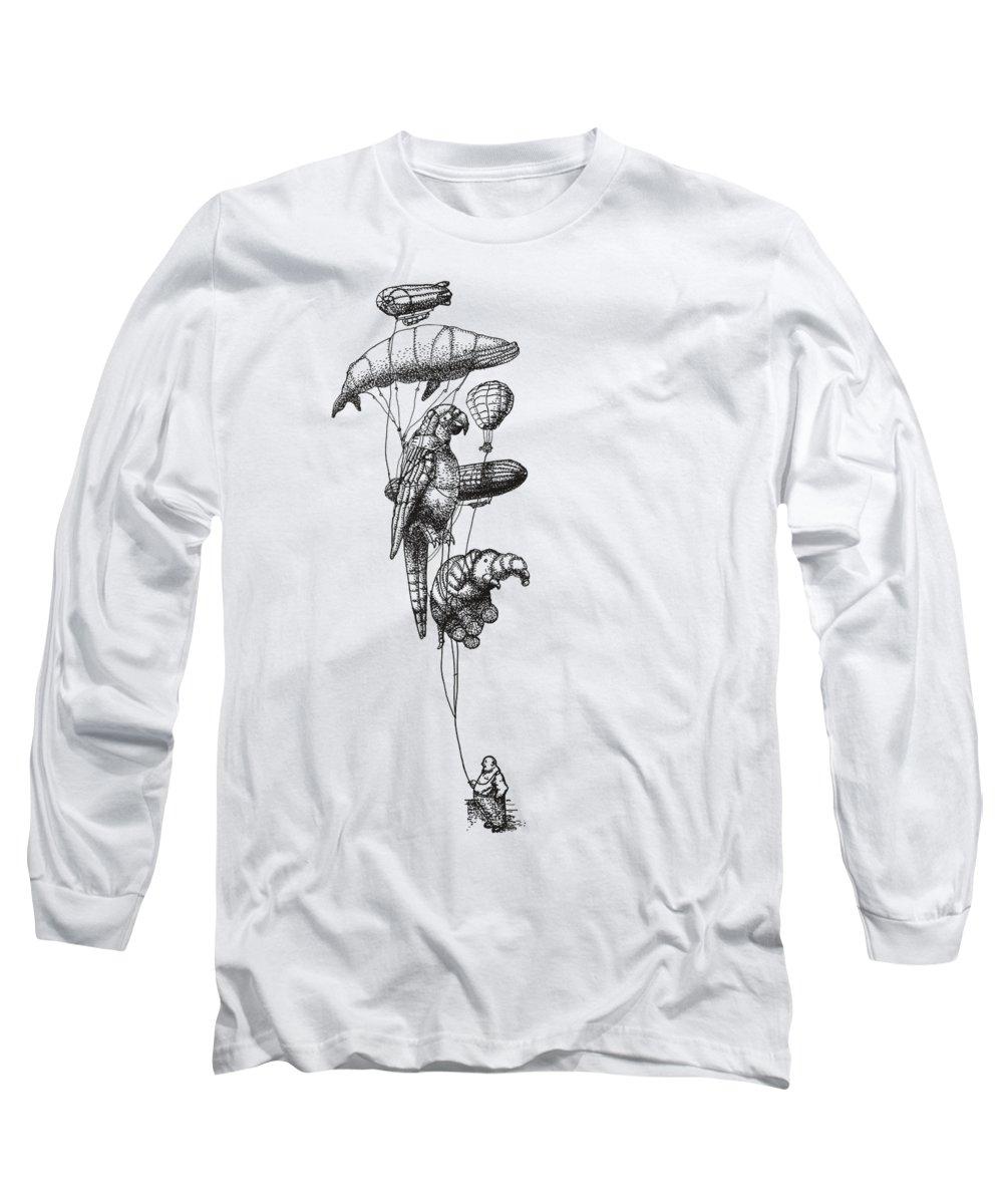 Hot Air Balloon Long Sleeve T-Shirts