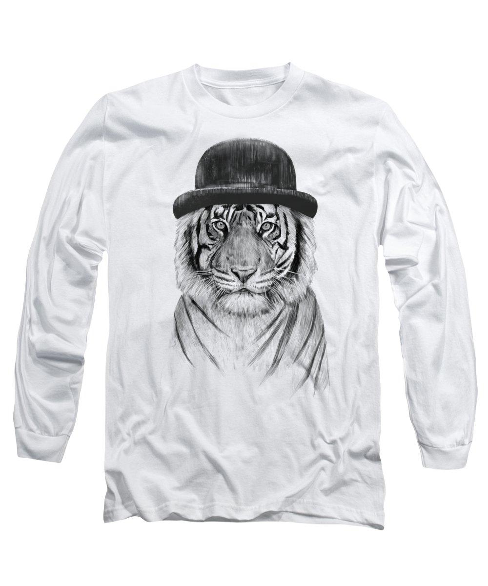 City Drawings Long Sleeve T-Shirts