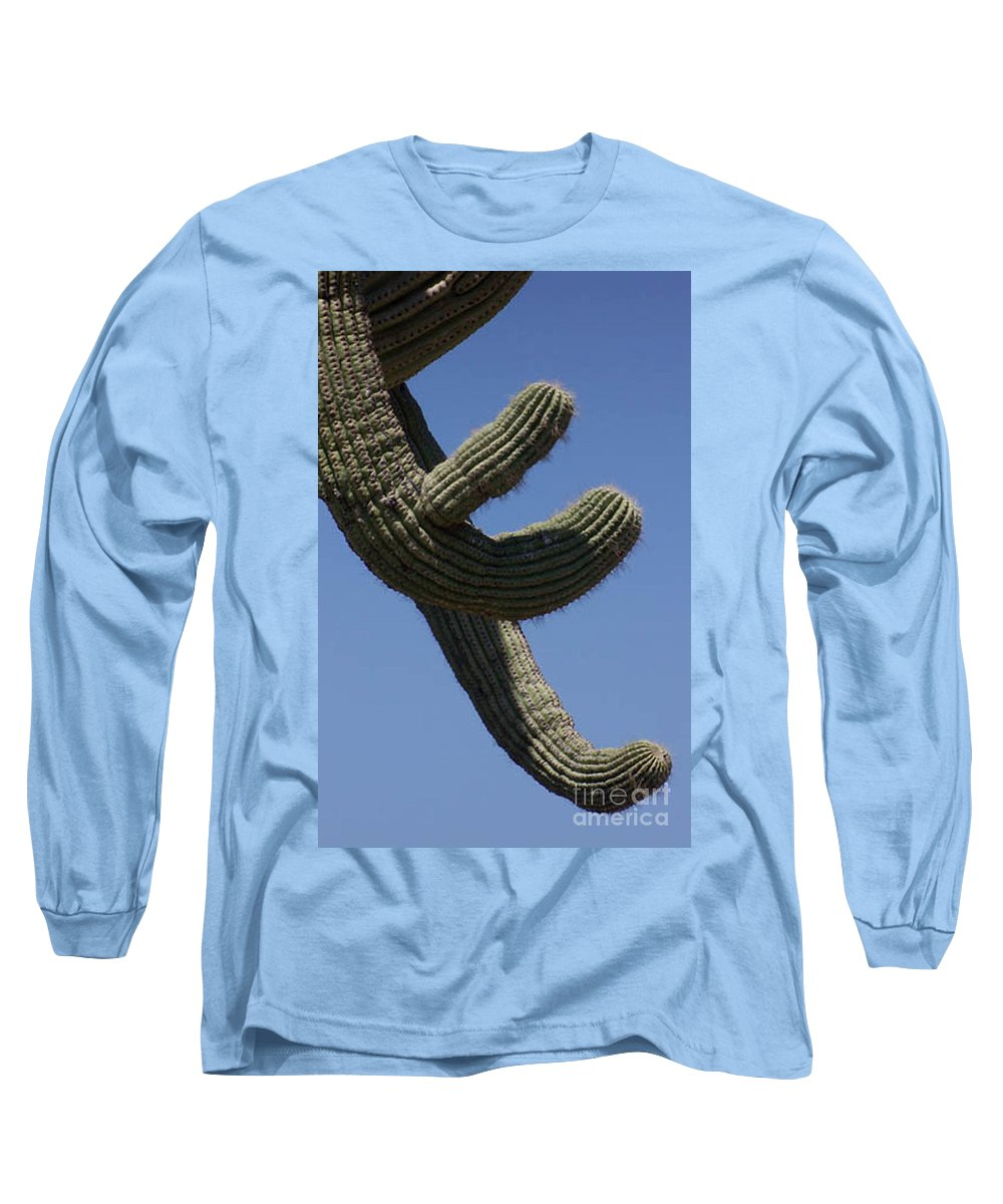 Saguaro Long Sleeve T-Shirt featuring the photograph Come Hither by Kathy McClure