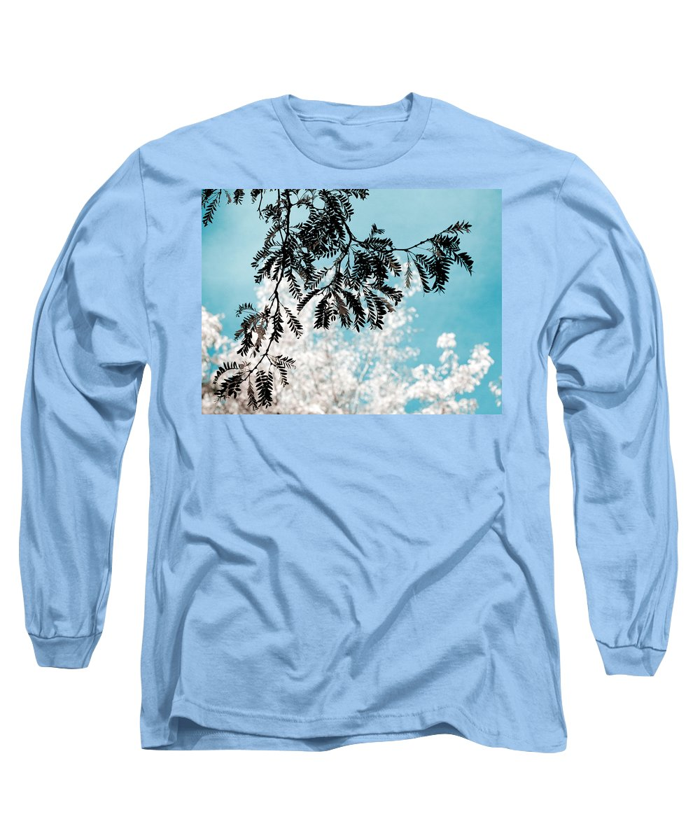 Tree Long Sleeve T-Shirt featuring the photograph Abstract Locust by Marilyn Hunt