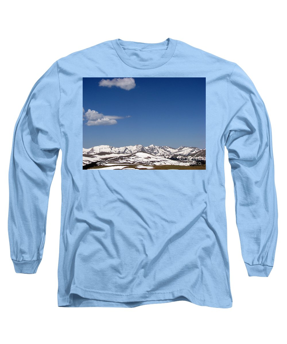 Mountains Long Sleeve T-Shirt featuring the photograph Alpine Tundra Series by Amanda Barcon
