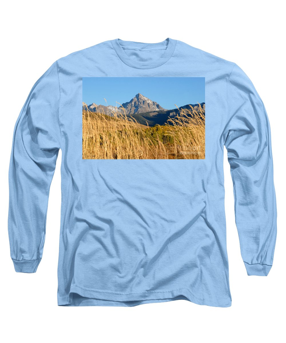 Fall Long Sleeve T-Shirt featuring the photograph Autumn Day by David Lee Thompson