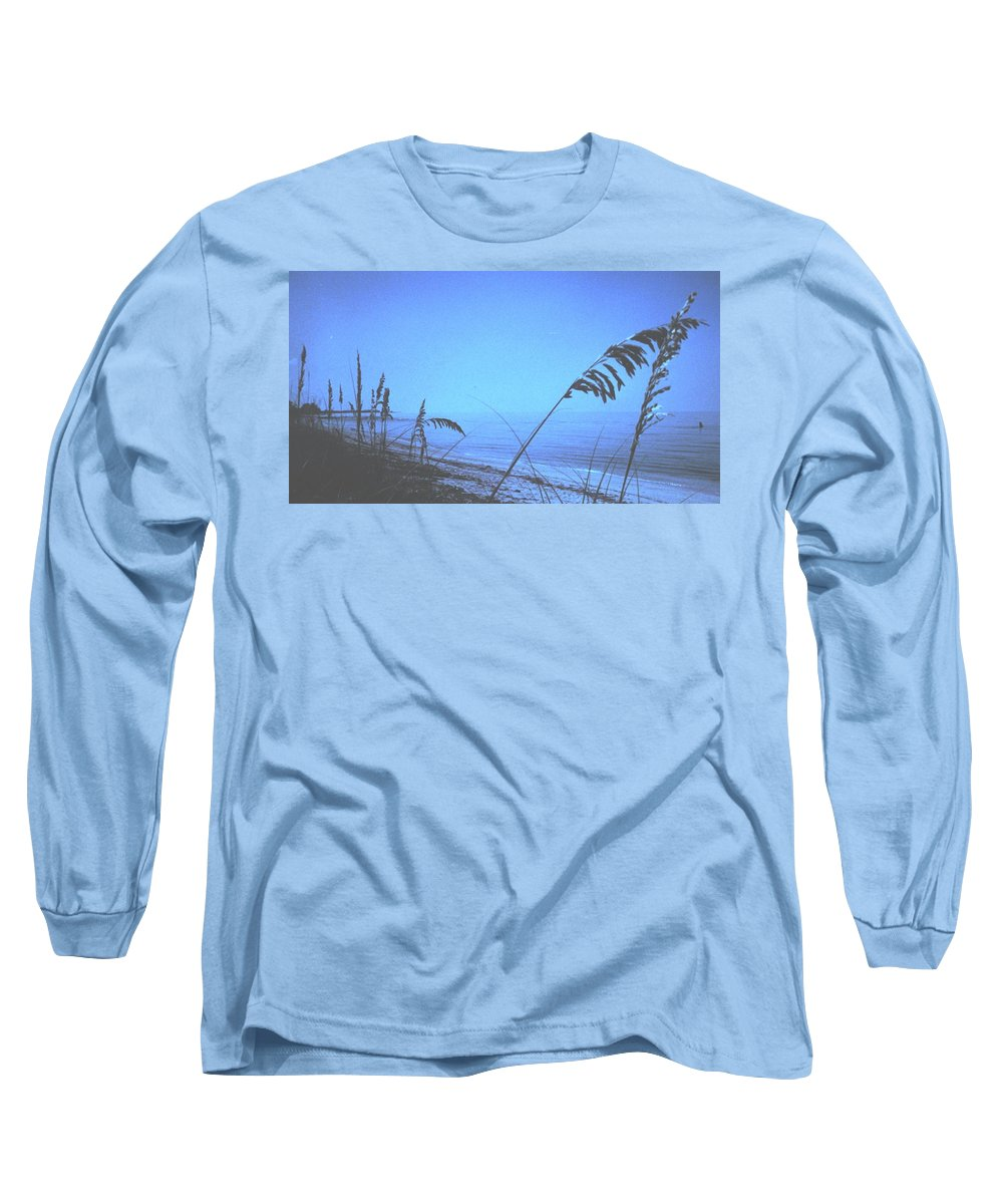 Long Sleeve T-Shirt featuring the photograph Bahama Blue by Ian MacDonald