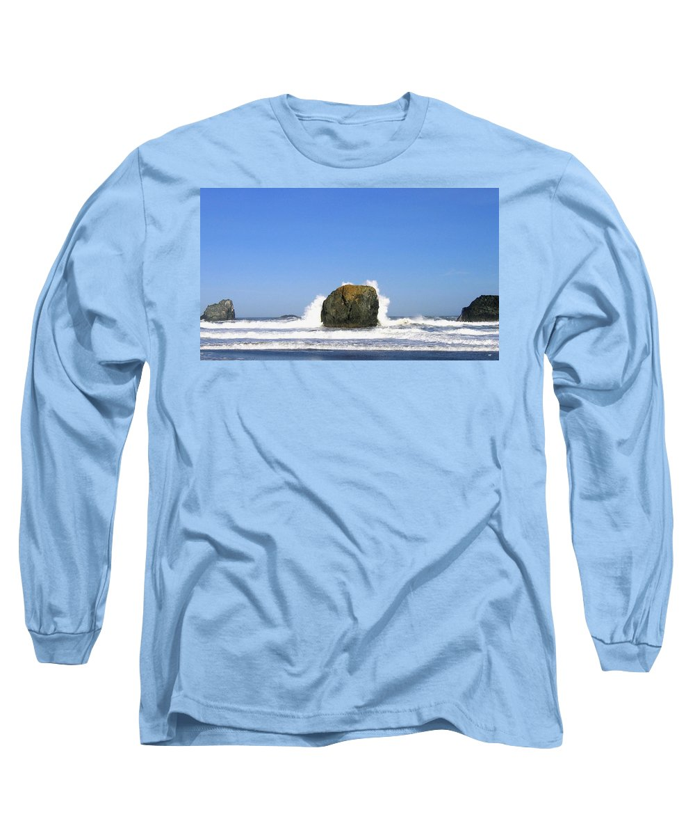 Bandon Long Sleeve T-Shirt featuring the photograph Bandon 14 by Will Borden