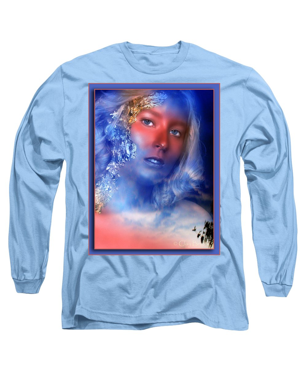 Clay Long Sleeve T-Shirt featuring the photograph Beauty In The Clouds by Clayton Bruster