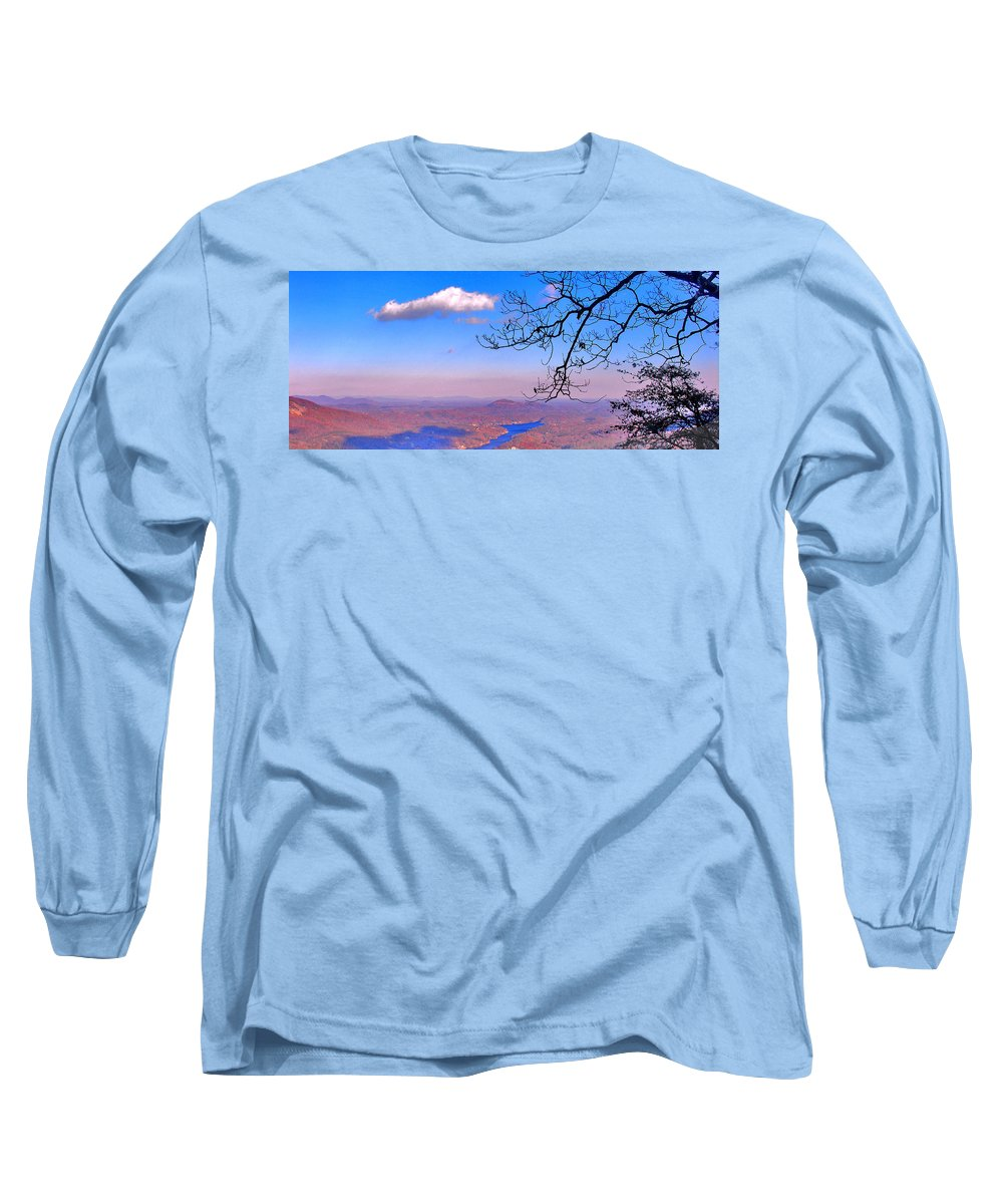 Landscape Long Sleeve T-Shirt featuring the photograph Detail From Reaching For A Cloud by Steve Karol