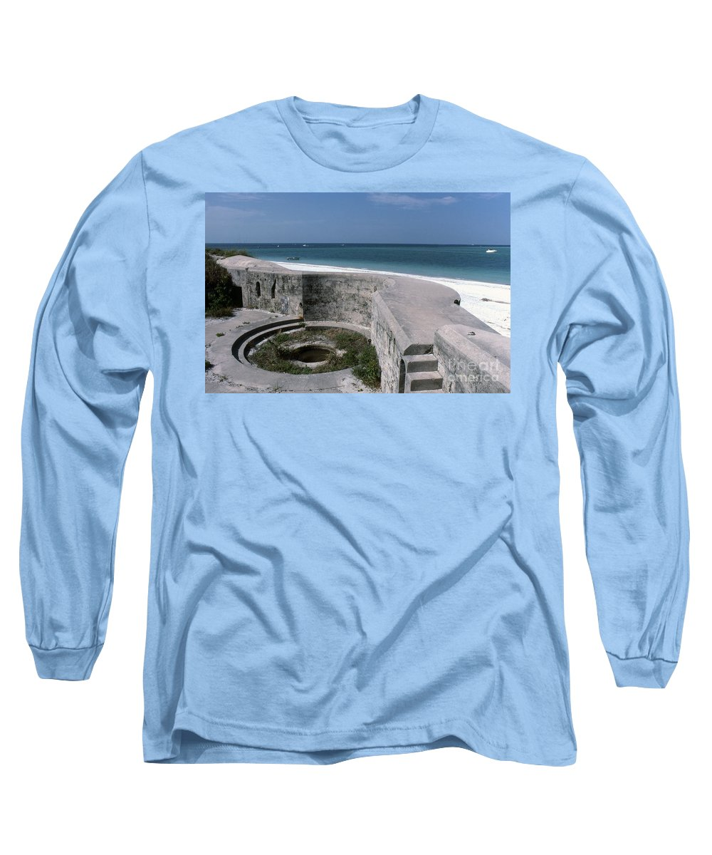 Beaches Long Sleeve T-Shirt featuring the photograph Egmont Key by Richard Rizzo
