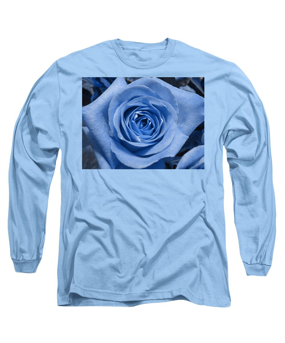 Rose Long Sleeve T-Shirt featuring the photograph Eye Wide Open by Shelley Jones