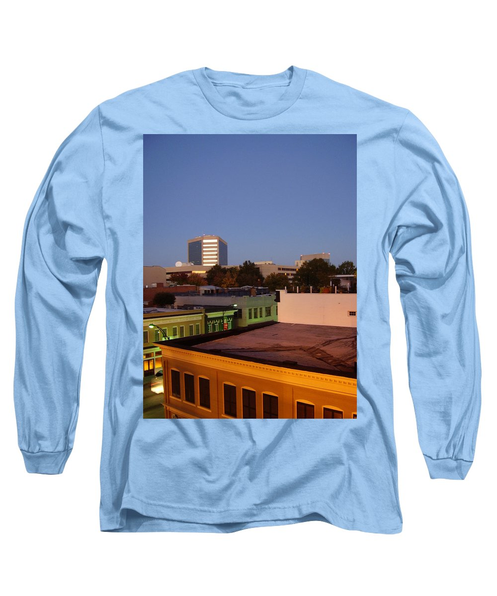 Greenville Long Sleeve T-Shirt featuring the photograph Greenville by Flavia Westerwelle