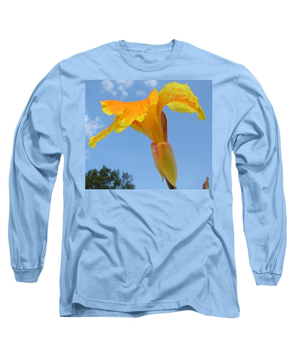 Long Sleeve T-Shirt featuring the photograph Happy Canna by Luciana Seymour