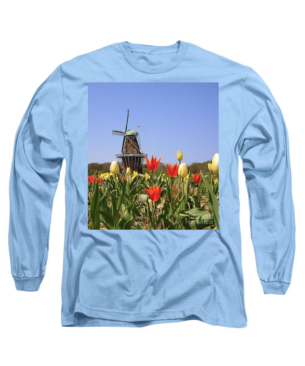 Tulips Long Sleeve T-Shirt featuring the photograph Its Tulip Time by Robert Pearson