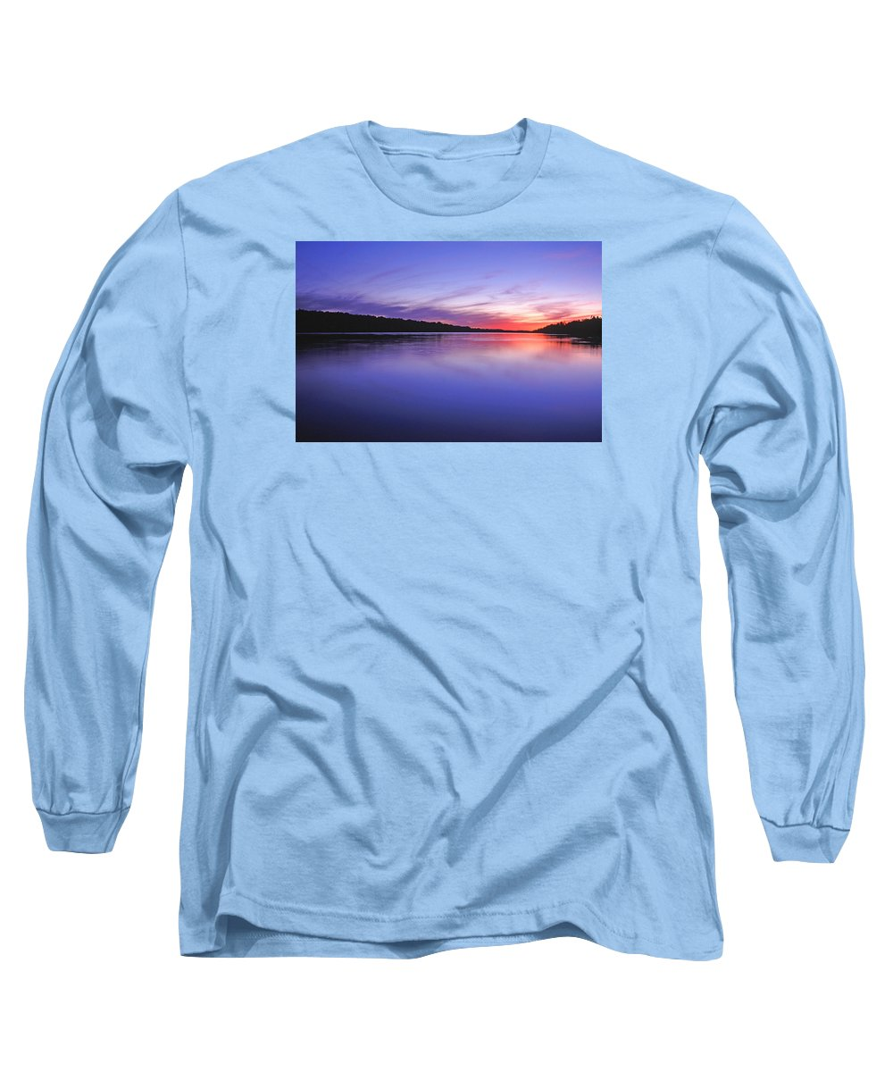 Landscape Long Sleeve T-Shirt featuring the photograph Manidooziibi by Bill Morgenstern