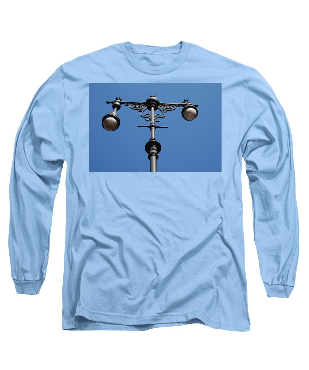 Lamppost Long Sleeve T-Shirt featuring the photograph Old Lamppost by Rob Hans