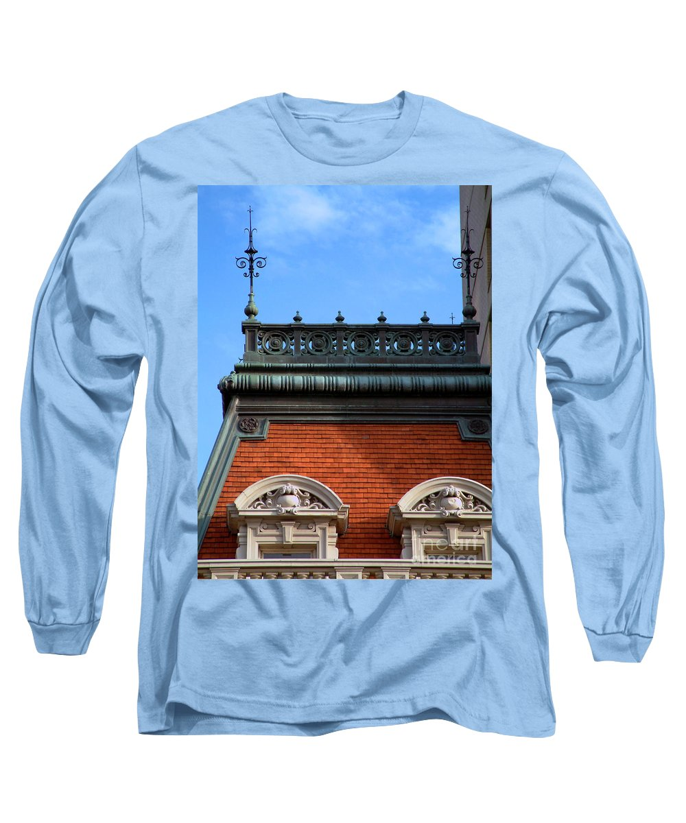 Apartment Long Sleeve T-Shirt featuring the photograph On A Clear Day by RC DeWinter