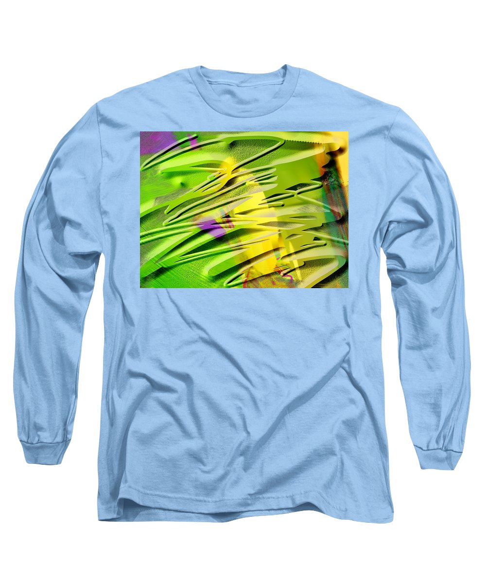 Scott Piers Long Sleeve T-Shirt featuring the painting P39b by Scott Piers