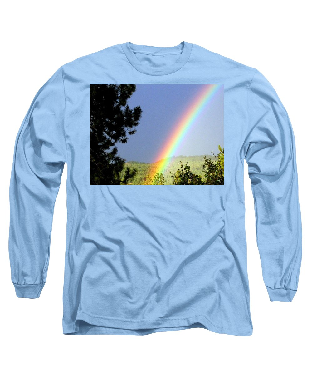 Rainbow Long Sleeve T-Shirt featuring the photograph Rainbow Covenant by Will Borden