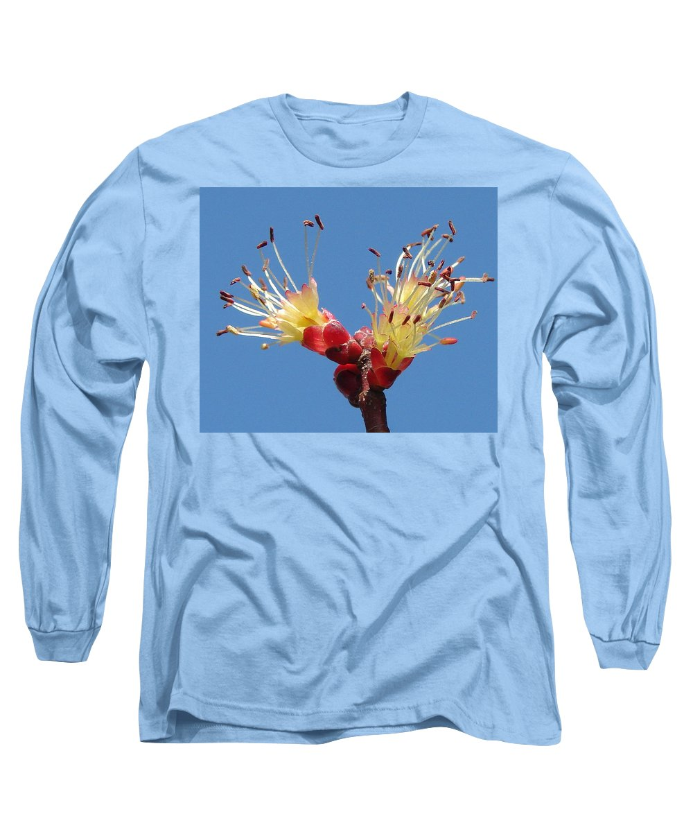 Long Sleeve T-Shirt featuring the photograph Re-awakening by Luciana Seymour
