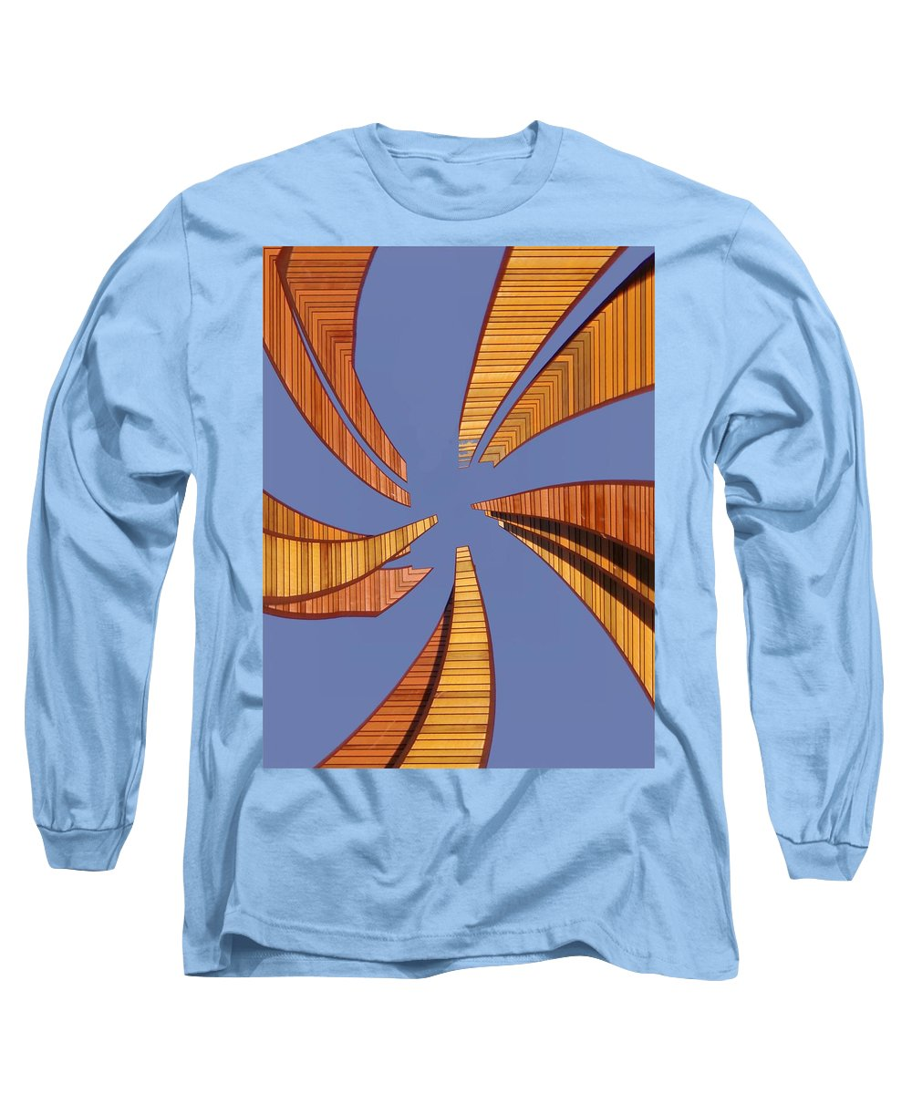 Seattle Long Sleeve T-Shirt featuring the digital art Reeds 2 by Tim Allen