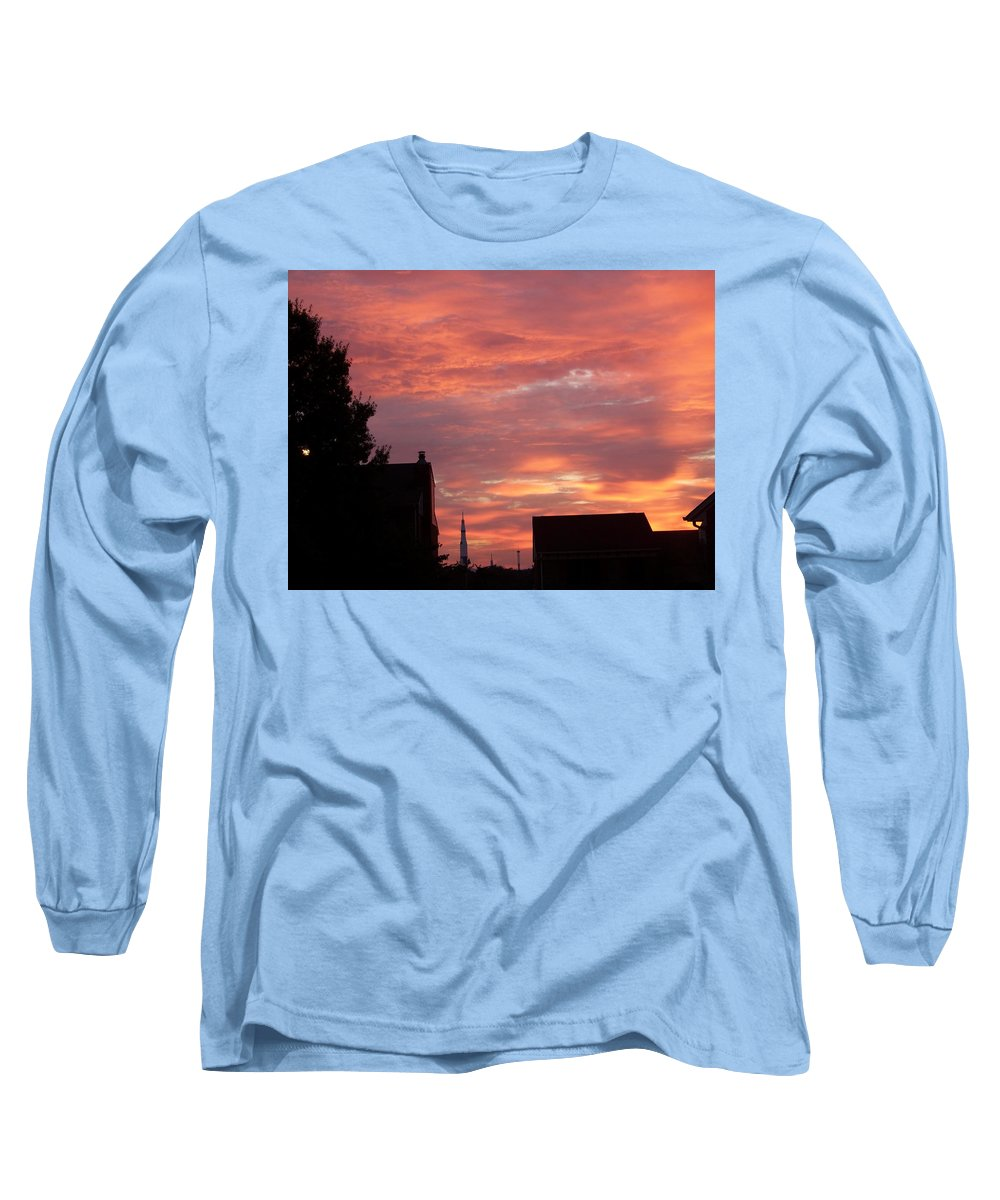 Saturn Moon Rocket Long Sleeve T-Shirt featuring the photograph Take Me To The Moon by Larry Wright