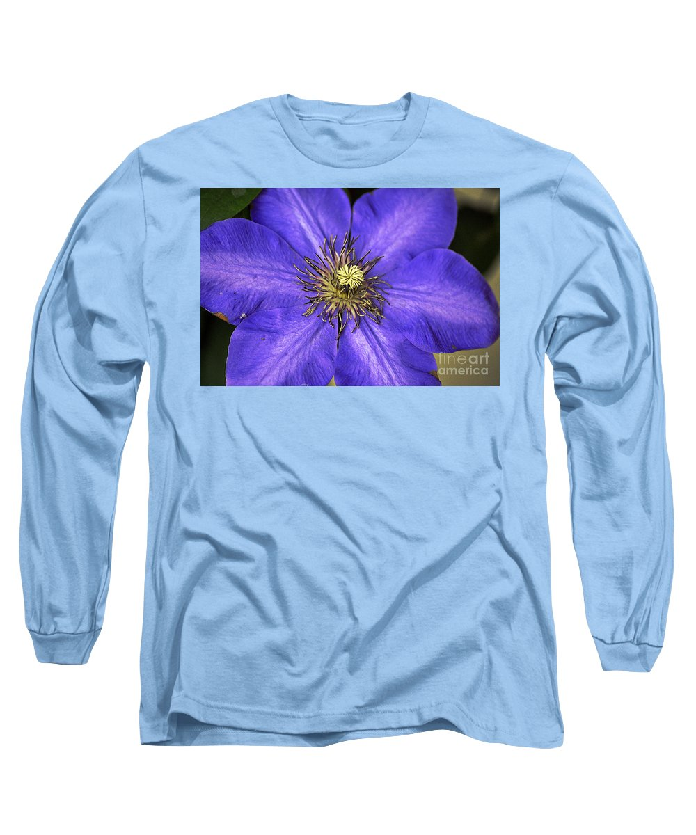 Clay Long Sleeve T-Shirt featuring the photograph Tenticles by Clayton Bruster
