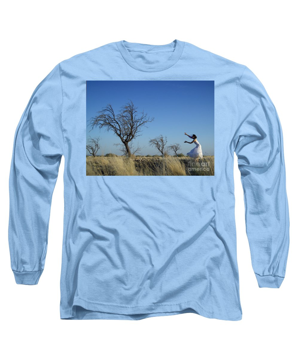 Landscape Long Sleeve T-Shirt featuring the photograph Tree Echo by Scott Sawyer