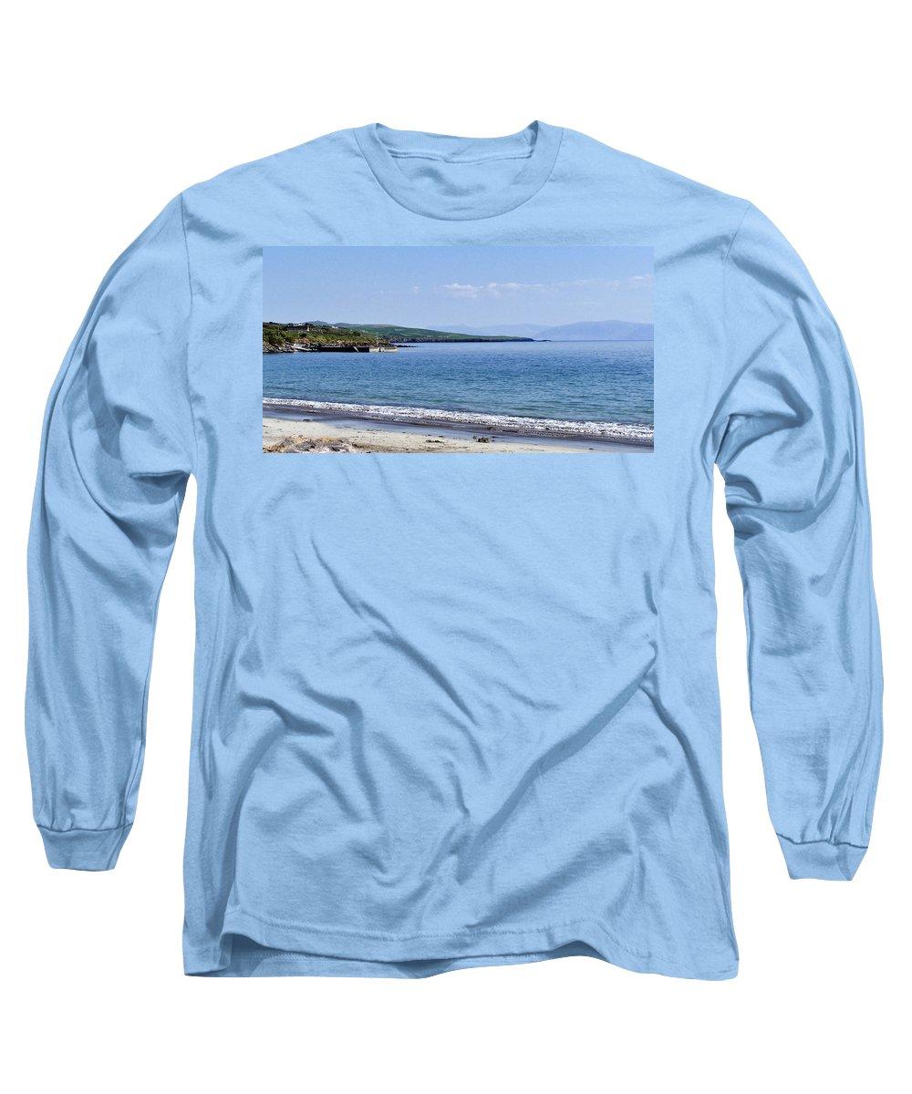 Irish Long Sleeve T-Shirt featuring the photograph Ventry Harbor On The Dingle Peninsula Ireland by Teresa Mucha
