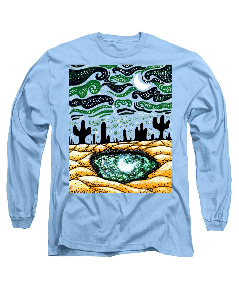 Dune Mixed Media Long Sleeve T-Shirts