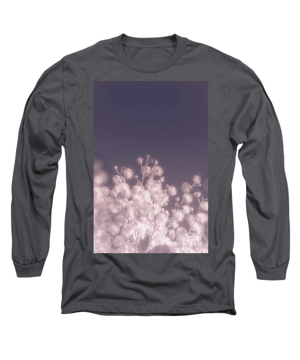 Infrared Radiation Photographs Long Sleeve T-Shirts