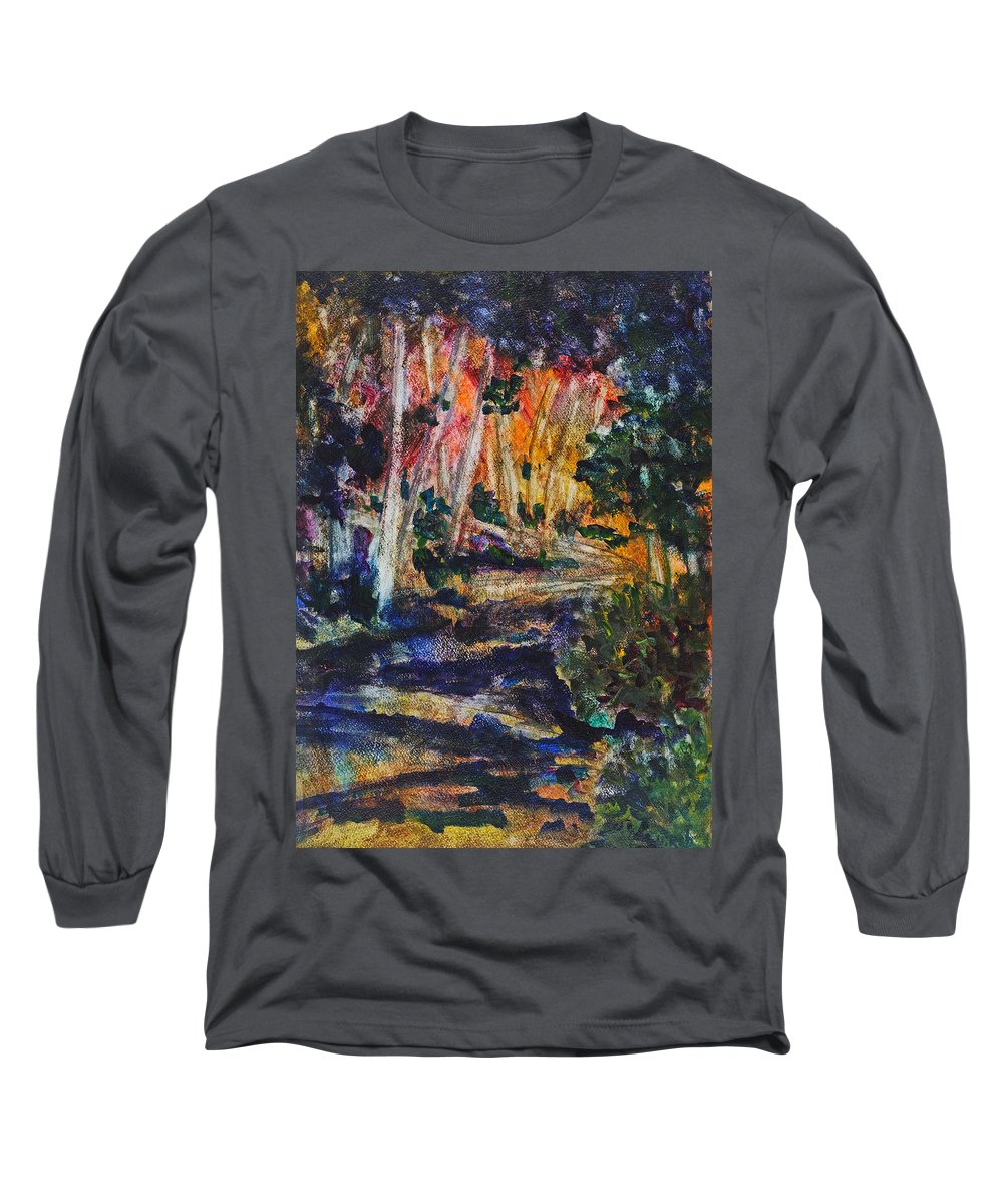 Brookside Gardens Paintings Long Sleeve T-Shirts